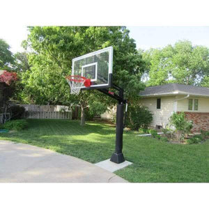 First Team Attack In-Ground Basketball Hoop-Basketball Equipment-First Team-Unique Sports