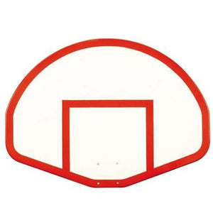 "First Team Fiberglass Backboards-Basketball - Backboards-First Team-39""x54"" Fan-Shaped Fiberglass Backboard-Unique Sports"