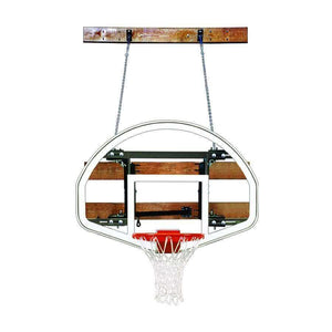First Team FoldaMount 46 Side Folding Wall Mounted Hoop-Basketball Equipment-First Team-FoldaMount 46 Advantage-Unique Sports