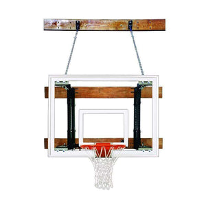 First Team FoldaMount 46 Side Folding Wall Mounted Hoop-Basketball Equipment-First Team-FoldaMount 46 Maverick-Unique Sports