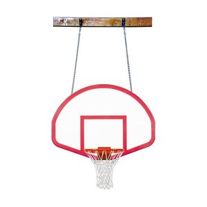 First Team FoldaMount 46 Side Folding Wall Mounted Hoop-Basketball Equipment-First Team-FoldaMount 46 Rebound-Unique Sports