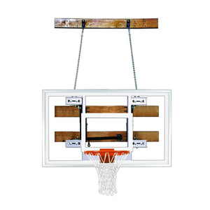First Team FoldaMount 46 Side Folding Wall Mounted Hoop-Basketball Equipment-First Team-FoldaMount 46 Select-Unique Sports