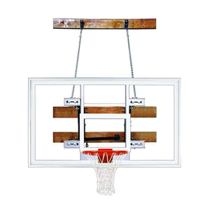 First Team FoldaMount 46 Side Folding Wall Mounted Hoop-Basketball Equipment-First Team-FoldaMount 46 Supreme-Unique Sports