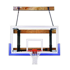 First Team FoldaMount 46 Side Folding Wall Mounted Hoop-Basketball Equipment-First Team-FoldaMount 46 Triumph-Unique Sports