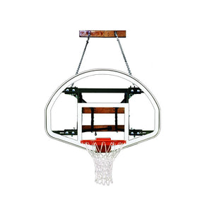 First Team Foldamount 82 Side Folding Wall Mounted Hoop-Basketball Equipment-First Team-FoldaMount 82 Advantage-Unique Sports
