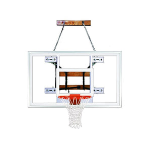 First Team Foldamount 82 Side Folding Wall Mounted Hoop-Basketball Equipment-First Team-FoldaMount 82 Select-Unique Sports