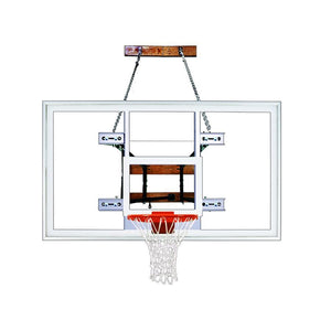 First Team Foldamount 82 Side Folding Wall Mounted Hoop-Basketball Equipment-First Team-FoldaMount 82 Supreme-Unique Sports