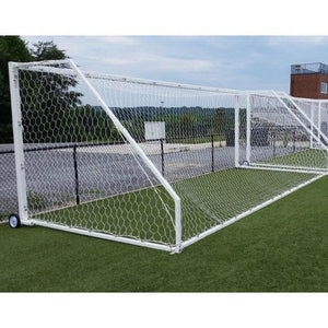 First Team Golden Goal 44 Aluminum Soccer Goals-Soccer Equipment-First Team-Unique Sports