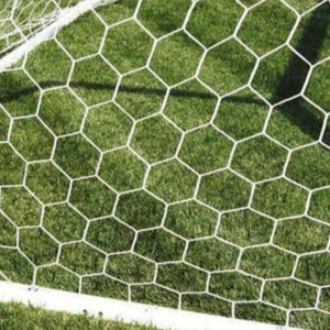 First Team Hexagonal Mesh Soccer Net-Soccer Equipment-First Team-Unique Sports