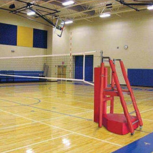 First Team Horizon™ Competition Portable Volleyball Net System-Volleyball Equipment-First Team-Unique Sports