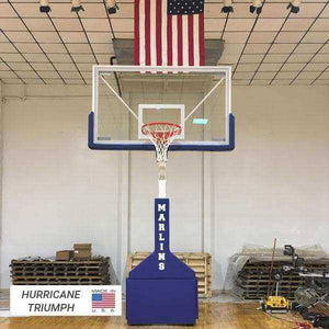 First Team Hurricane Portable Basketball Hoop-Basketball Equipment-First Team-Unique Sports