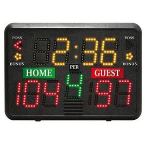 Portable Tabletop Multi-Sport Scoreboard By First Team-Basketball Equipment-First Team-Unique Sports