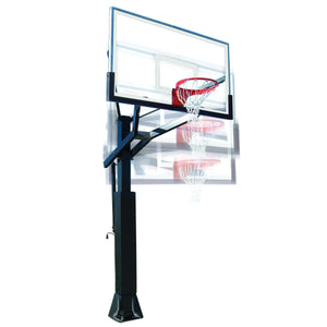 First Team PowerHouse 6 In-Ground Basketball Hoop-Basketball Equipment-First Team-Unique Sports