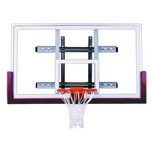 First Team PowerMount Wall Mounted Basketball Hoop-Basketball Equipment-First Team-PowerMount Contender-Unique Sports