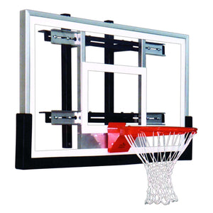 First Team PowerMount Wall Mounted Basketball Hoop-Basketball Equipment-First Team-PowerMount Performance-Unique Sports