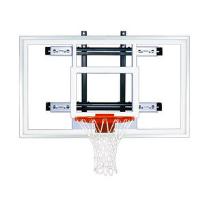 First Team PowerMount Wall Mounted Basketball Hoop-Basketball Equipment-First Team-PowerMount Pro-Unique Sports