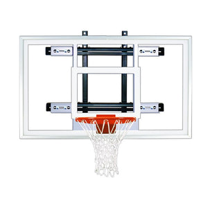 First Team PowerMount Wall Mounted Basketball Hoop-Basketball Equipment-First Team-PowerMount Select-Unique Sports