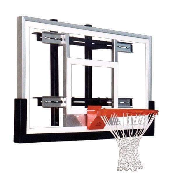 First Team PowerMount Wall Mounted Basketball Hoop