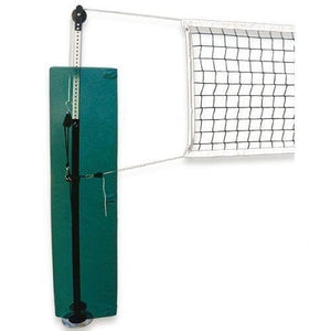 First Team Quickset Recreational Volleyball Net System-Volleyball Equipment-First Team-QuickSet™ Permanent-Brick Red-Unique Sports