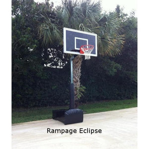 First Team Rampage Portable Basketball Hoop-Basketball Equipment-First Team-Unique Sports