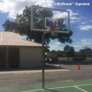 First Team Ruffneck In-Ground Basketball Hoop-Basketball Equipment-First Team-Unique Sports