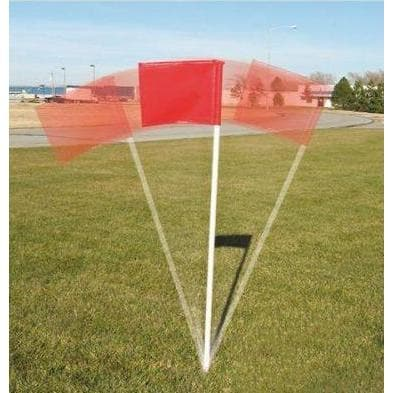First Team Set Of Four Official Soccer Field Corner Flags