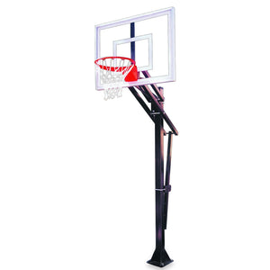 First Team Slam In-Ground Basketball Hoop-Basketball Equipment-First Team-Slam Turbo-BP-Unique Sports