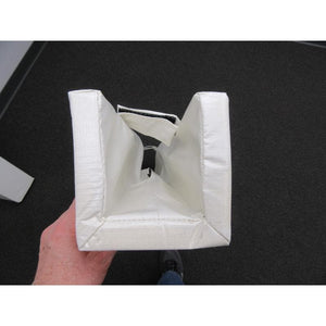First Team Soccer Post Upright Square Padding (Pair)-Parts & Accessories-First Team-Unique Sports