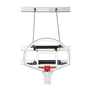 First Team SuperMount 46 Wall Mounted Basketball Hoop-Basketball Equipment-First Team-SuperMount46 Advantage-Unique Sports