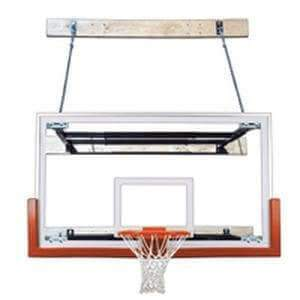 First Team SuperMount 46 Wall Mounted Basketball Hoop-Basketball Equipment-First Team-Unique Sports