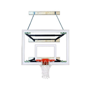 First Team Supermount 68 Wall Mounted Basketball Hoop-Basketball Equipment-First Team-SuperMount 68 Maverick-Unique Sports