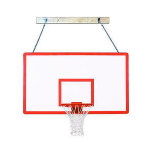 First Team Supermount 68 Wall Mounted Basketball Hoop-Basketball Equipment-First Team-SuperMount 68 Performance-Unique Sports