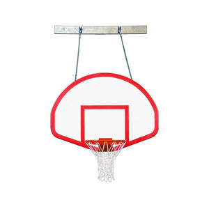 First Team Supermount 68 Wall Mounted Basketball Hoop-Basketball Equipment-First Team-SuperMount 68 Rebound-Unique Sports