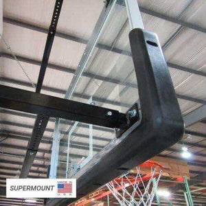 First Team Supermount 68 Wall Mounted Basketball Hoop-Basketball Equipment-First Team-Unique Sports