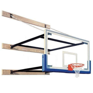 Supermount68 Wall Mounted Basketball Hoops By First Team-Basketball Equipment-First Team-Unique Sports