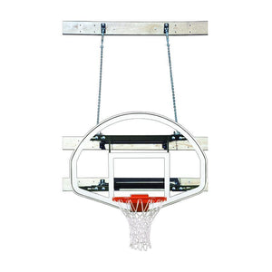 First Team SuperMount23 Wall Mount Basketball Goal-Basketball Equipment-First Team-SuperMount23 Advantage-Unique Sports