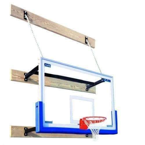 First Team SuperMount23 Wall Mount Basketball Goal-Basketball Equipment-First Team-SuperMount23 Triumph-Unique Sports