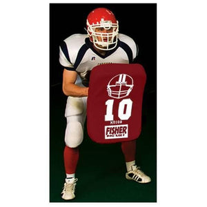 Fisher Athletic Curved Body Shield (HD100)-Football Equipment-Fisher Athletic-Unique Sports