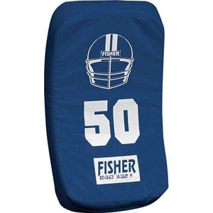 Fisher Athletic Curved Body Shield (HD150)-Football Equipment-Fisher Athletic-Navy-Unique Sports