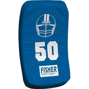 Fisher Athletic Curved Body Shield (HD150)-Football Equipment-Fisher Athletic-Royal-Unique Sports