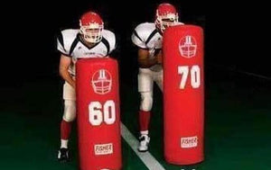 Fisher Athletic Heavy Weight Stand Up Football Dummy-Football - Blocking Shields & Dummies-Fisher Athletic-Unique Sports