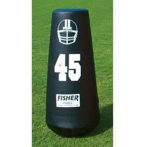 Fisher Athletic Junior Pop Up Football Dummy-Football - Blocking Shields & Dummies-Fisher Athletic-Unique Sports