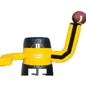 Throwing Dummy Arms By Fisher Athletic-Football Equipment-Fisher Athletic-Drop Back Left-Unique Sports