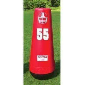 Fisher Athletic Varsity Pop Up Football Dummy-Football - Blocking Shields & Dummies-Fisher Athletic-Unique Sports