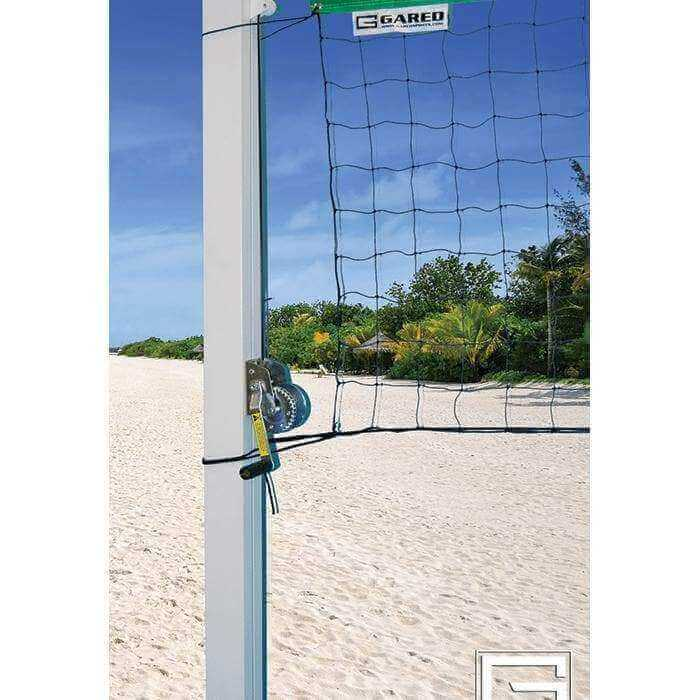 "Gared Sports 4"" Square Outdoor Volleyball Standards"