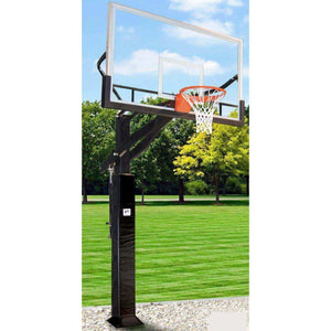 The 'All Pro Jam' Adjustable In-Ground Hoops By Gared-Basketball Equipment-Gared Sports-Glass-Unique Sports