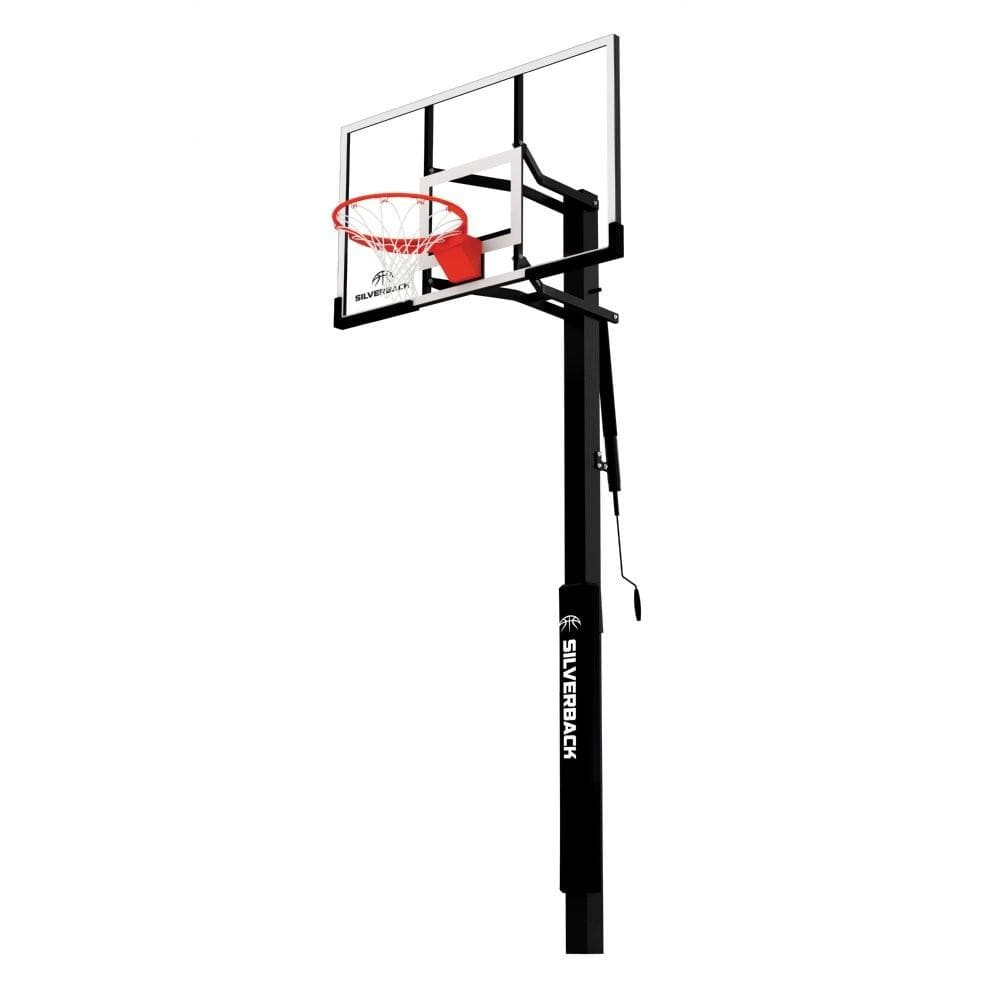 "Goalrilla Silverback SB In-Ground Basketball Hoops-Basketball Equipment-Goalrilla-54"" (SB54IG - In-Ground)-Unique Sports"