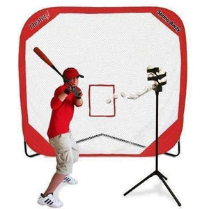 Heater Big League Drop Toss & Spring Away Pop-Up Net-Equipment For The Beginner-Heater-Unique Sports