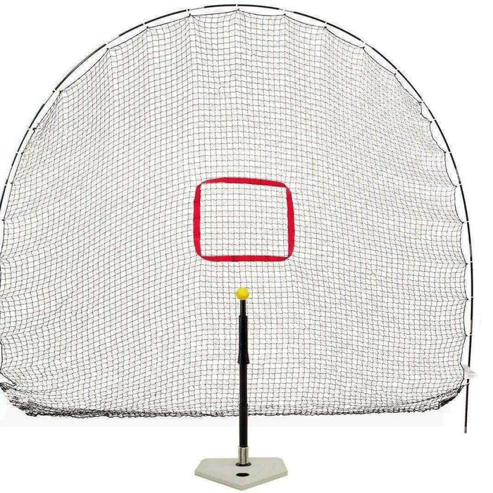 Heater Hitting Station 3-in-1 Spring Away Tee & Sports Net