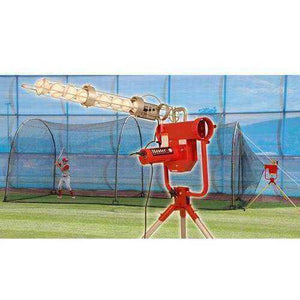 Pro With Auto Ball Feeder & Xtender 24' Cage By Heater Sports-Equipment For The Beginner-Heater-Unique Sports